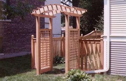garden arbor designs